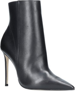 Read more about Carvela spectacular stiletto heeled pointed toe ankle boots black leather