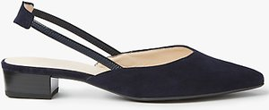 Read more about Peter kaiser carsta slingback court shoes navy suede