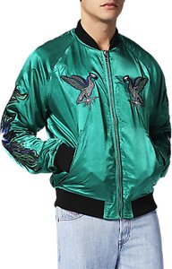 Read more about Diesel j-shine bomber jacket green