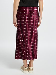 Read more about Y a s galay pleated midi skirt rhododendron gold