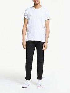 Read more about Diesel larkee-beex regular straight dark denim jeans black
