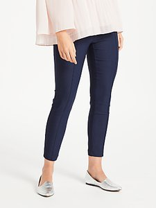 Read more about Max studio slim leg trousers navy