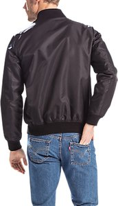 Read more about Levi s lyon shell bomber jacket black