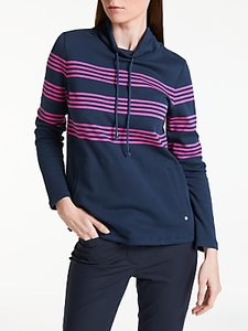 Read more about Gerry weber long sleeve stripe sweatshirt navy