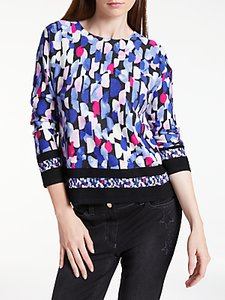 Read more about Gerry weber long sleeve printed jumper multi