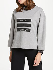 Read more about Patternity john lewis pause reflect sweatshirt grey melange