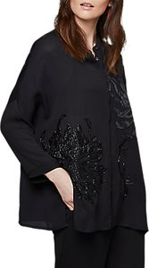 Read more about East yokahama embroidered blouse black