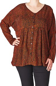 Read more about Adia printed blouse orange rust
