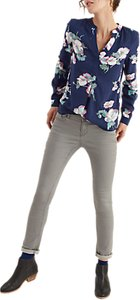 Read more about Joules rosamund printed blouse navy poppy