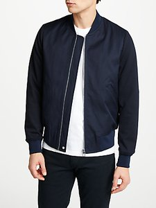 Read more about Ps by paul smith tailored bomber jacket navy