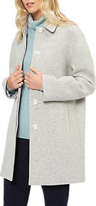 Read more about Jaeger wool rich speckle coat light grey