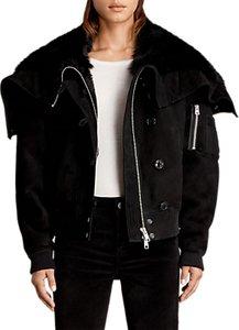 Read more about Allsaints trux bomber jacket black