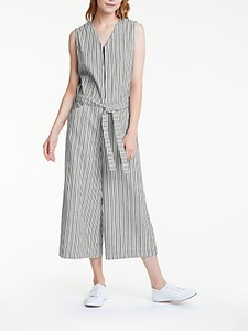 Read more about People tree melia jumpsuit navy stripe