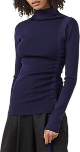 Read more about Finery eastbrook polo neck jumper navy