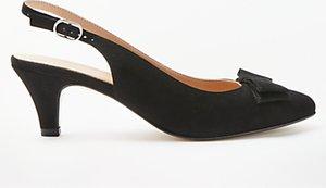 Read more about John lewis graciela kitten heel court shoes black suede