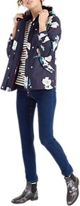 Read more about Joules right as rain coast printed waterproof jacket navy poppy