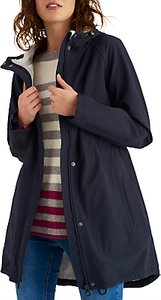 Read more about Joules right as rain westport hooded raincoat marine navy