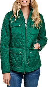 Read more about Barbour dolostone quilted jacket evergreen