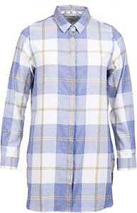 Read more about Barbour wester long check shirt blue marl