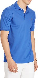 Read more about Polo ralph lauren short sleeve soft-touch slim polo shirt provincetown blue