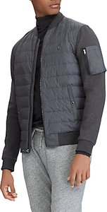 Read more about Polo ralph lauren hybrid bomber jacket windsor heather