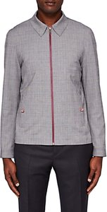 Read more about Ted baker parr checked harrington jacket grey