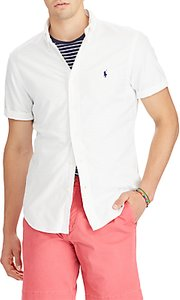 Read more about Polo ralph lauren short sleeve slim oxford shirt