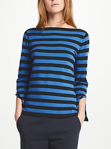 Read more about Marella eolo stripe jumper cornflower blue