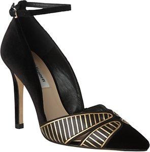 Read more about L k bennett matilde court shoes black
