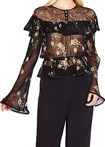 Read more about Ghost leah embroidered sheer blouse daisy bunches