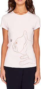 51d290ce6f085b ted baker keleen encyclopedia floral fitted t shirt - Shop ted baker ...