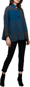 Read more about East coco wool swing jacket blue