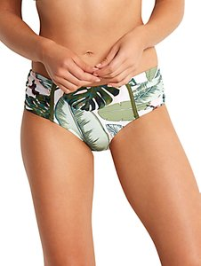 Read more about Seafolly palm beach retro bikini bottoms moss multi