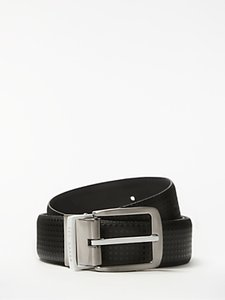 Read more about Ted baker delli dimpled leather belt black
