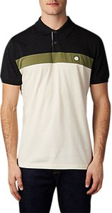 Read more about Pretty green frequency short sleeve polo shirt grey