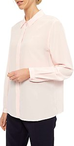 Read more about Jaeger placket detail silk blouse light pink