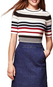 Read more about Yumi ribbed striped jumper multi