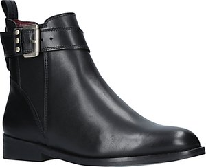 Read more about Kg by kurt geiger rusty ankle boots black leather