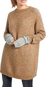 Read more about Hush jada knit tunic jumper brown sugar