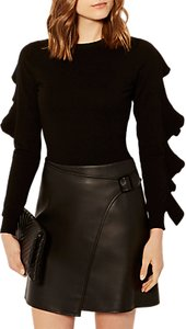 Read more about Karen millen ruffle crew neck jumper black