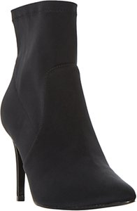 Read more about Dune ormand stiletto heeled ankle boots black