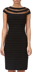 Read more about Adrianna papell matte jersey banded dress black