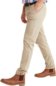 Read more about Joules cobblestone laundered chino trousers natural