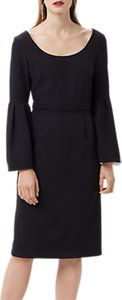 Read more about Finery elgin flute sleeve dress black