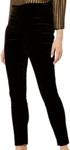 Read more about Karen millen velvet high waisted trousers black
