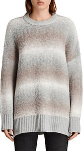 Read more about Allsaints ikarus crew neck jumper taupe marl