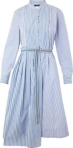Read more about Weekend maxmara aerovia cotton poplin dress blue
