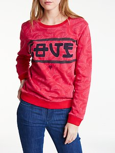 Read more about Maison scotch love sweater red