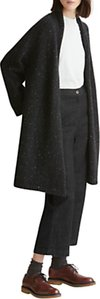 Read more about Toast donegal knitted wool coat black