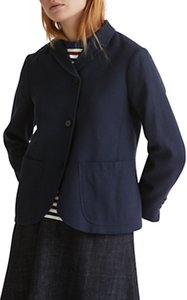 Read more about Toast wool cotton alma jacket washed navy